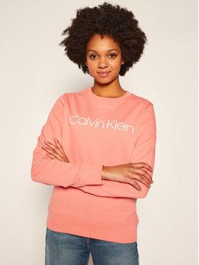 Calvin Klein Calvin Klein Суитшърт Core Logo K20K202157 Розов Regular Fit