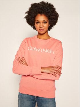 Calvin Klein Calvin Klein Sweatshirt Core Logo K20K202157 Rosa Regular Fit