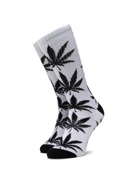 HUF HUF Chaussettes hautes unisex Essentials Plantlife Sock SK00298 r.OS Blanc