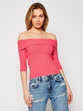 Guess Guess Sweater Dayna W1GR0O Z2U00 Rózsaszín Slim Fit