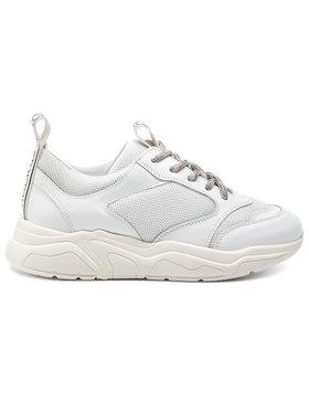 Stokton Sneakersy 33-D-SS19 Biela
