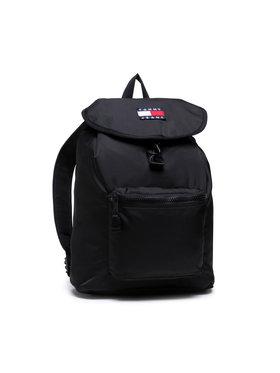 Tommy Jeans Tommy Jeans Batoh Tjm Heritage Flap Backpack AM0AM07600 Černá