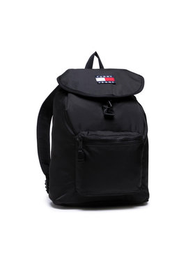 Tommy Jeans Tommy Jeans Раница Tjm Heritage Flap Backpack AM0AM07600 Черен