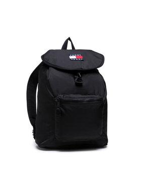Tommy Jeans Tommy Jeans Σακίδιο Tjm Heritage Flap Backpack AM0AM07600 Μαύρο
