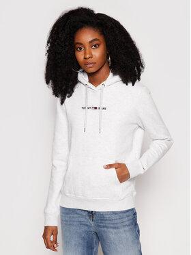 Tommy Jeans Tommy Jeans Sweatshirt Tjw Linear Logo DW0DW10132 Grau Regular Fit