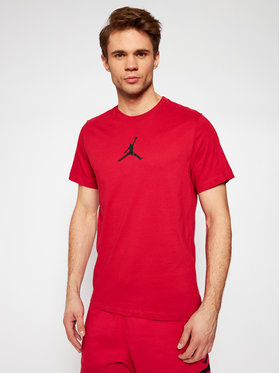 Nike Nike T-Shirt Jordan Jumpman CW5190 Czerwony Standard Fit