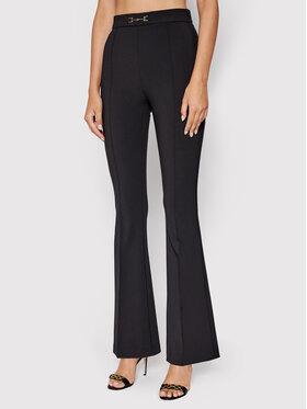 Elisabetta Franchi Elisabetta Franchi Pantalon en tissu PA-381-16E2-V240 Noir Skinny Fit