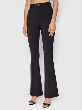 Elisabetta Franchi Elisabetta Franchi Текстилни панталони PA-381-16E2-V240 Черен Skinny Fit