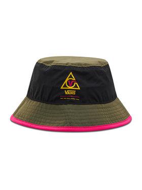 Vans Vans Klobouk bucket hat Wm 66 Supply Bucket VN0A4S91BLK1 Zelená
