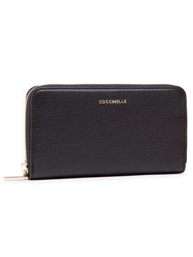 Coccinelle Coccinelle Nagy női pénztárca HW5 Metallic Soft E2 HW5 11 04 01 Fekete