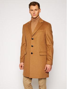 Tommy Hilfiger Tailored Tommy Hilfiger Tailored Płaszcz przejściowy Wool Blend TT0TT08117 Brązowy Regular Fit