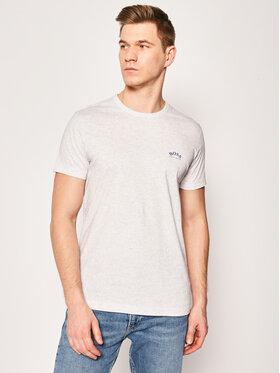 Boss Boss T-Shirt Tee Curved 50412363 Szary Regular Fit