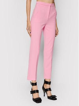 Patrizia Pepe Patrizia Pepe Spodnie materiałowe 8P0325/A7M9-R730 Różowy Slim Fit