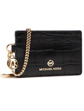 MICHAEL Michael Kors MICHAEL Michael Kors Etui pentru carduri Jet Set Charm 34S1GT9D1E Negru