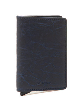 Secrid Secrid Malá pánská peněženka Slimwallet SCr Tmavomodrá