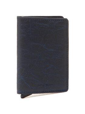 Secrid Secrid Portafoglio piccolo da uomo Slimwallet SCr Blu scuro