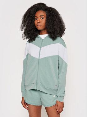 4F 4F Sweatshirt H4L21-BLD019 Grün Regular Fit