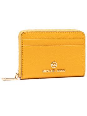 MICHAEL Michael Kors MICHAEL Michael Kors Malá dámská peněženka Jet Set Charm 34S1GT9Z1L Žlutá