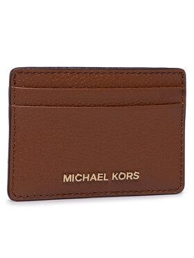 MICHAEL Michael Kors MICHAEL Michael Kors Калъф за кредитни карти Jet Set 34F9GF6D0L Кафяв
