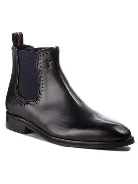 Joop! Joop! Kotníková obuv s elastickým prvkem Kleitos 4140004162 Černá