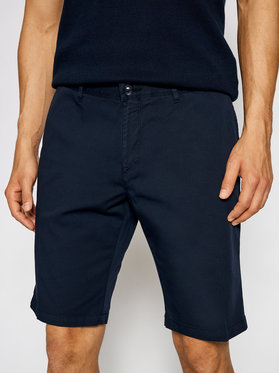 Roy Robson Roy Robson Short en tissu 985-59 Bleu marine Regular Fit