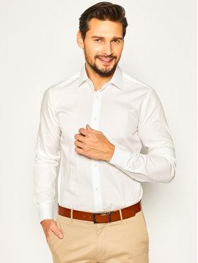 Strellson Strellson Košile Santos-Cc 30020267 Bílá Slim Fit
