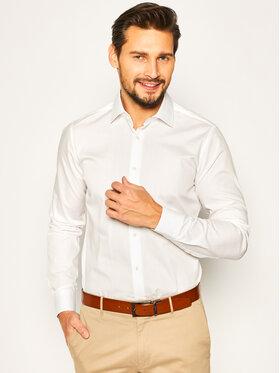 Strellson Strellson Marškiniai Santos-Cc 30020267 Balta Slim Fit