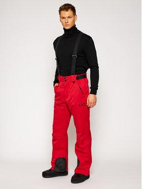 EA7 Emporio Armani EA7 Emporio Armani Lyžařské kalhoty 6HPP25 PN4BZ 1451 Červená Regular Fit