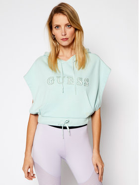 Guess Guess Sweatshirt O1GA00 K68I1 Grün Loose Fit