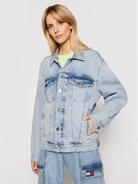Tommy Jeans Tommy Jeans Giacca di jeans Trucker DW0DW10066 Blu Oversize