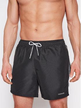 Calvin Klein Swimwear Calvin Klein Swimwear Σορτς κολύμβησης Logo Ties KM0KM00565 Μαύρο Regular Fit