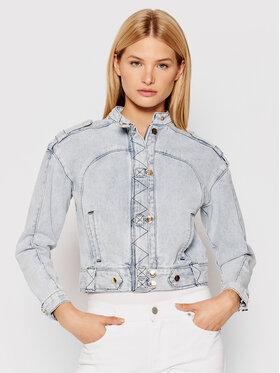 IXIAH IXIAH Kurtka jeansowa X211-20142 Niebieski Regular Fit