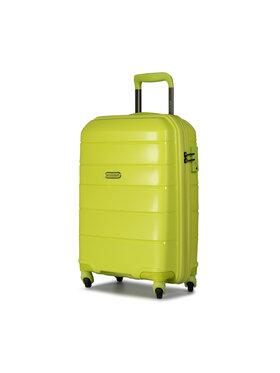Puccini Puccini Kis kemény borítású bőrönd Bahamas PP016C 5 Zöld