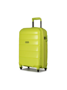 Puccini Puccini Malý tvrdý kufr Bahamas PP016C 5 Zelená