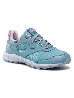 Jack Wolfskin Jack Wolfskin Трекінгові черевики Woodland Texapore Low K 4042161 Голубий