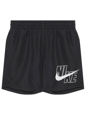 NIKE NIKE Pantaloncini da bagno Logo Solid NESSA771 Nero Standard Fit