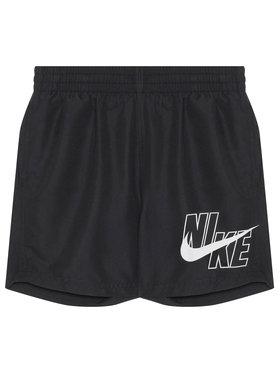 NIKE NIKE Plavecké šortky Logo Solid NESSA771 Čierna Standard Fit