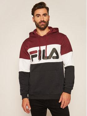 Fila Fila Felpa Night Blocked 687001 Nero Regular Fit