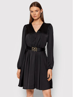 Rinascimento Rinascimento Robe de jour CFC0104989003 Noir Regular Fit