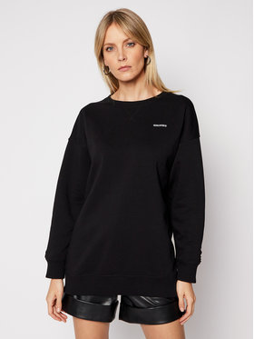 Red Valentino Red Valentino Sweatshirt VR3MF06M Noir Relaxed Fit