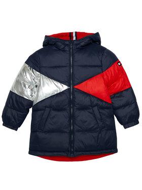 Tommy Hilfiger Tommy Hilfiger Vatovaná bunda Reversible Iconic KG0KG05398 M Barevná Regular Fit