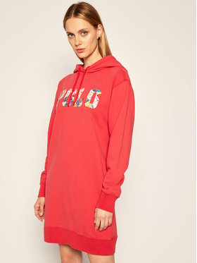Polo Ralph Lauren Polo Ralph Lauren Sukienka dzianinowa Lsl 211800473001 Czerwony Regular Fit
