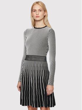 Boss Boss Sukienka dzianinowa C_Illoran 50452368 Czarny Slim Fit