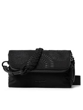 Desigual Desigual Дамска чанта 21WAXA33 Черен
