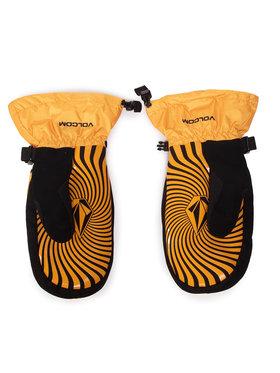 Volcom Volcom Lyžiarske rukavice X-Mitt J6852114 Žltá