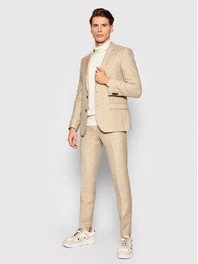Hugo Hugo Costum Henry/Getlin212 50460810 Bej Slim Fit