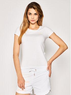 EA7 Emporio Armani EA7 Emporio Armani T-Shirt 3HTT03 TJ28Z 1100 Bílá Regular Fit