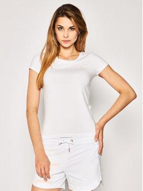 EA7 Emporio Armani EA7 Emporio Armani T-shirt 3HTT03 TJ28Z 1100 Blanc Regular Fit