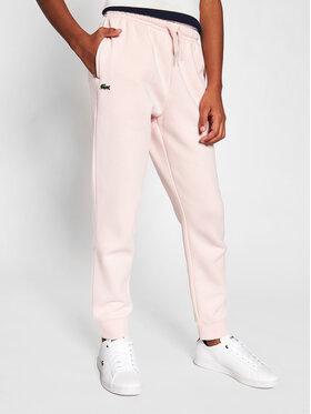 Lacoste Lacoste Teplákové nohavice XJ9476 Ružová Regular Fit