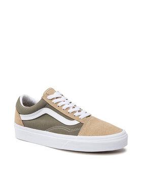 Vans Vans Sneakers aus Stoff Old Skool VN0A3WKT4PF1 Grün